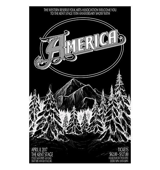 America 2017 Concert Poster